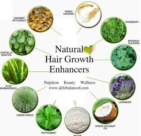 Natural hair growth